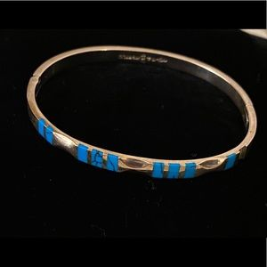 Sterling Silver Turquoise bracelet made in Mexico